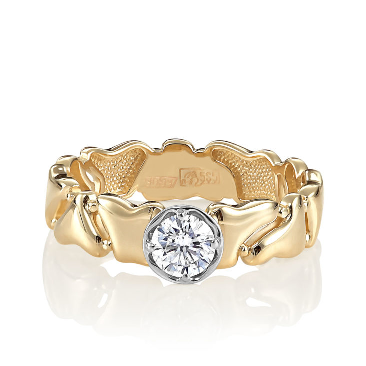 Кольцо 1-2497-1000 золото