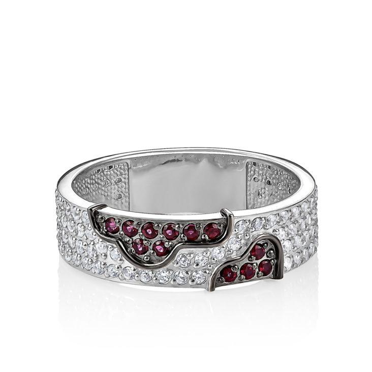 Кольцо 11-192-8589 серебро