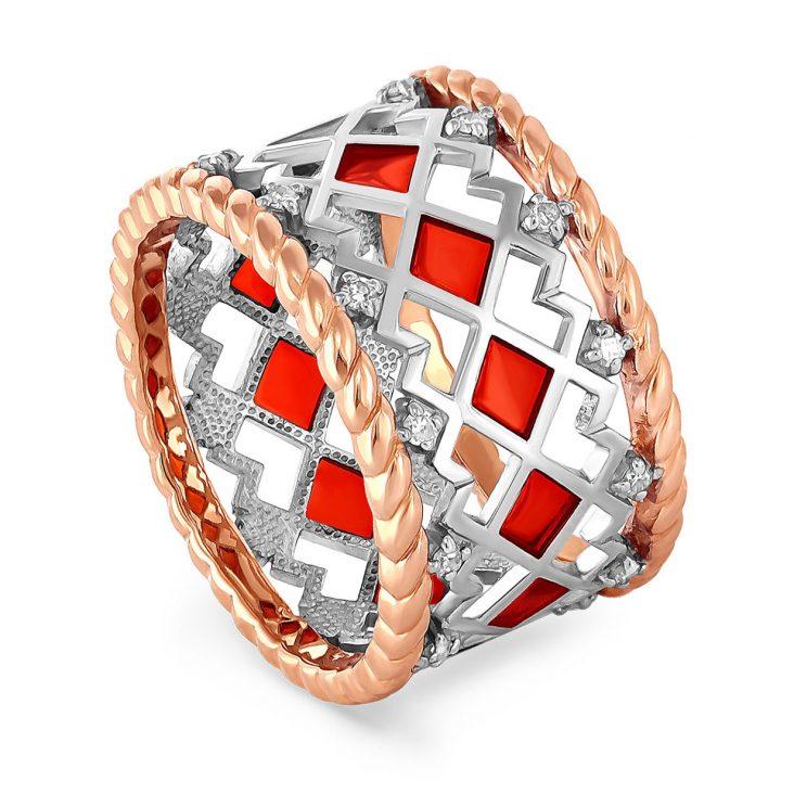 Кольцо 11-0952-1018 золото