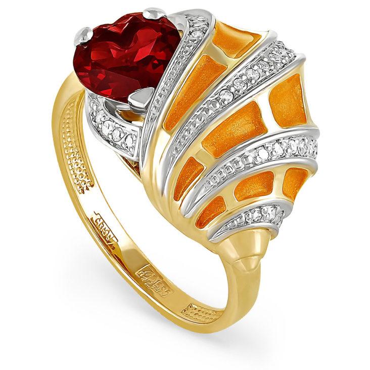 Кольцо 11-2753-2123 золото
