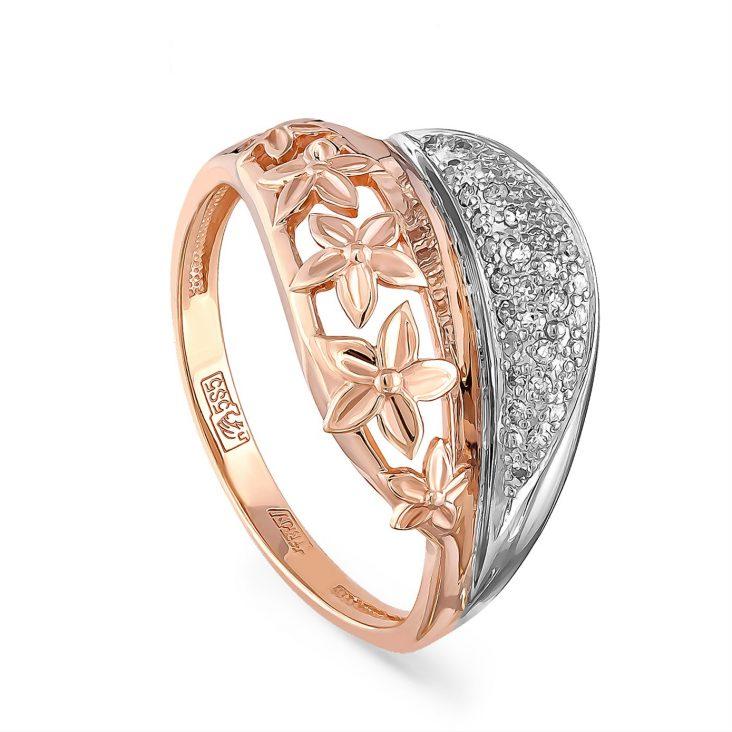 Кольцо 1-0462-1000 золото