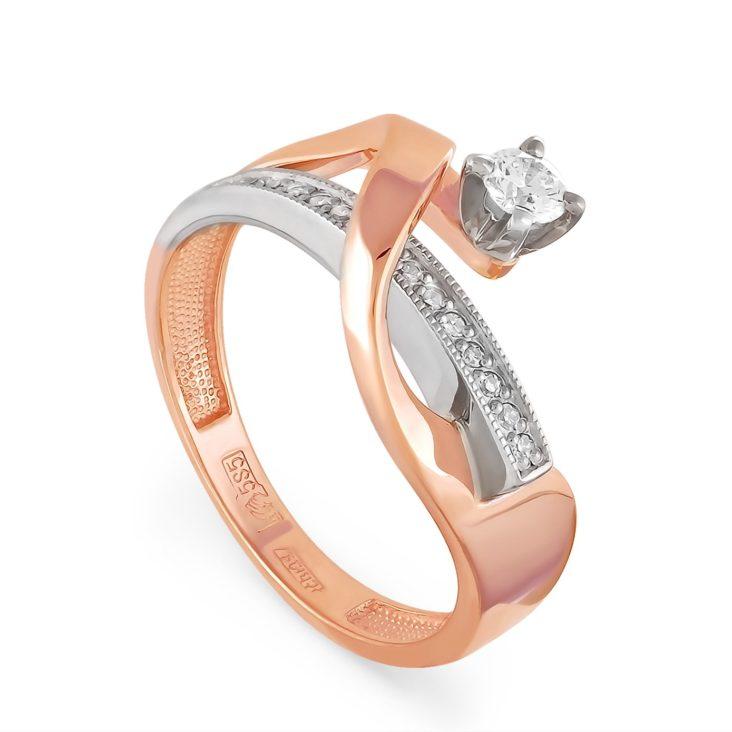 Кольцо 1-0345-1000 золото
