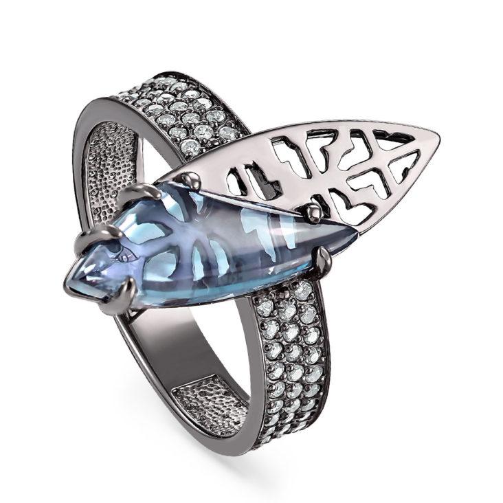 Кольцо 11-184-2089 серебро