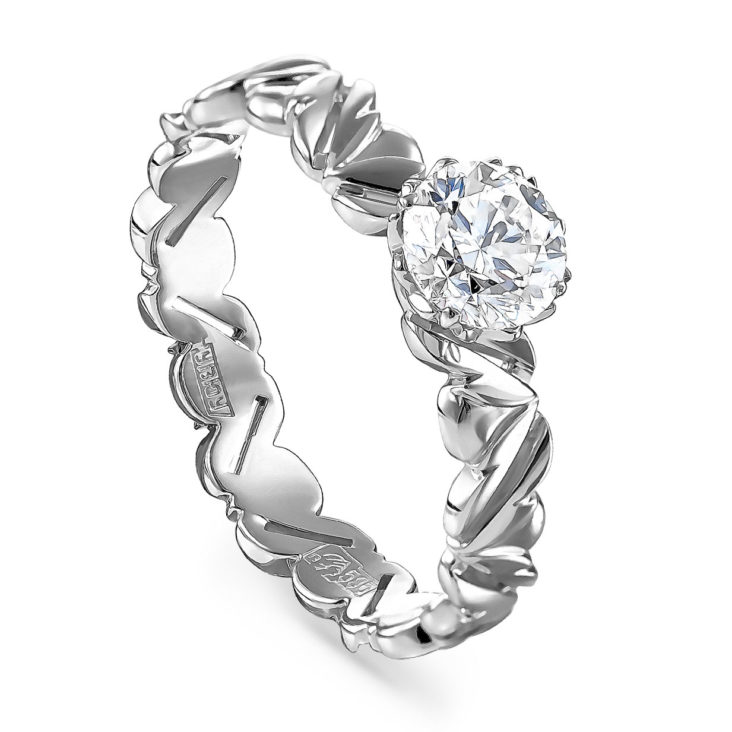 Кольцо 1-1502-1000 золото