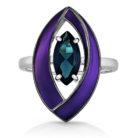 Кольцо 11-156-2026 серебро