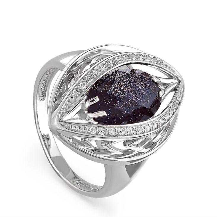 Кольцо 11-067-1300 серебро