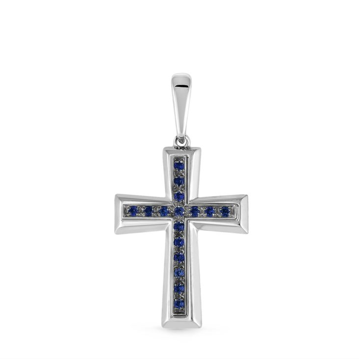 Крест 3-203-40889 серебро
