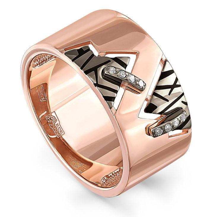 Кольцо 11-31011-1002 золото