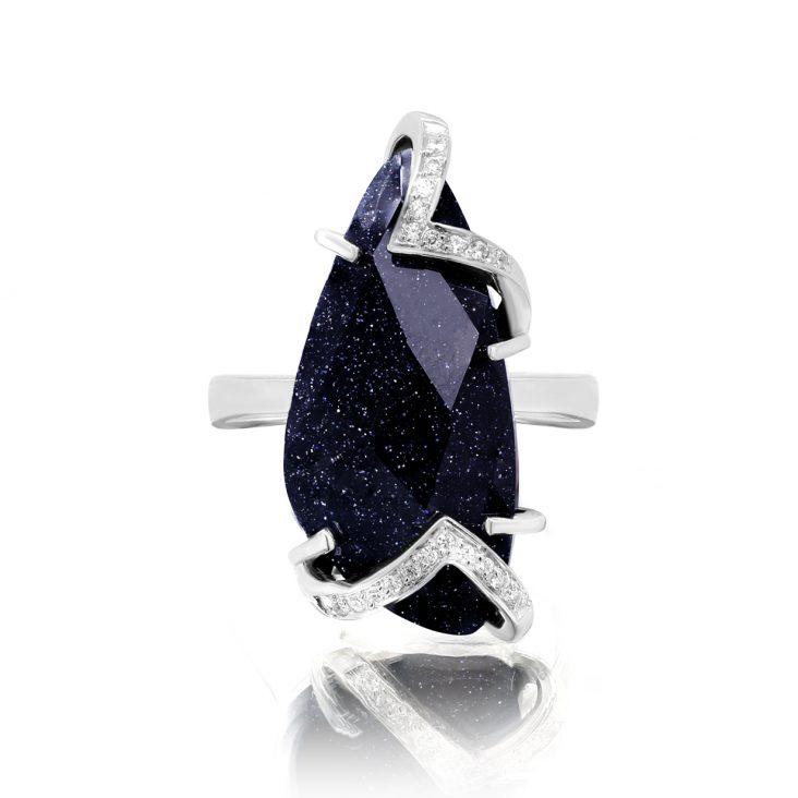 Кольцо 11-236-1300 серебро