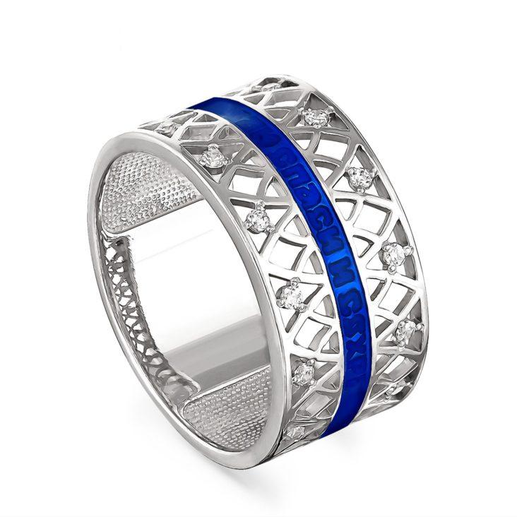 Кольцо 1-030-8107 серебро