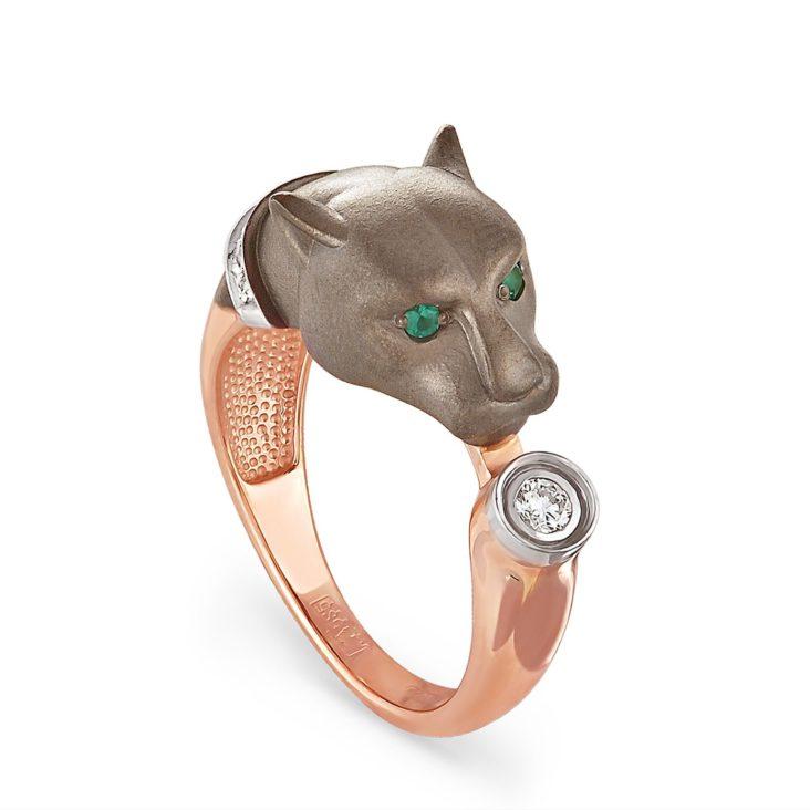 Кольцо 1-0296-1200 золото