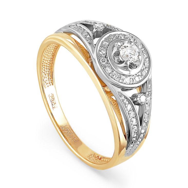 Кольцо 11-2765-1000 золото