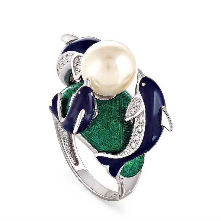 Кольцо 11-018-1507 серебро