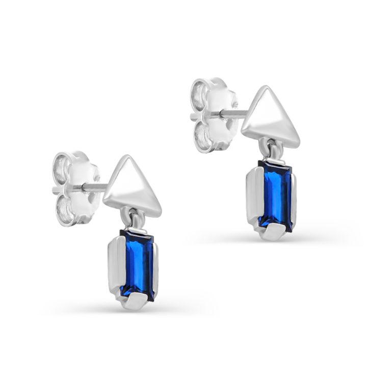 Пусеты 2-060-70800 серебро