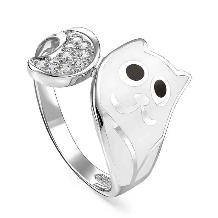Кольцо 1-002-7910 серебро