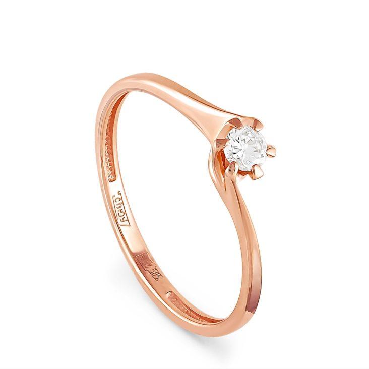 Кольцо 1-0353-1000 золото