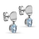 Пусеты 12-257-73100 серебро