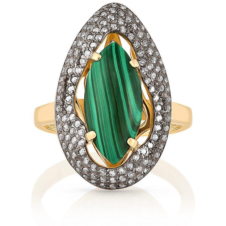 Кольцо 11-21053-4600 золото