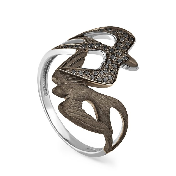 Кольцо 1-1440-2000 золото
