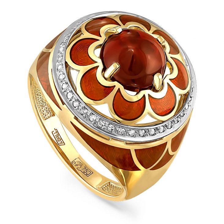 Кольцо 11-2648-3514 золото