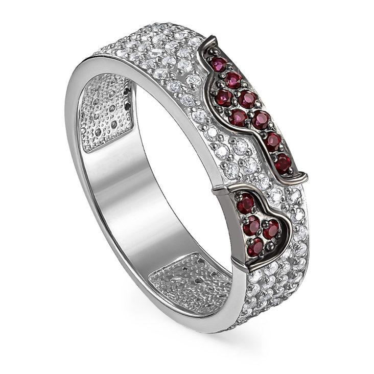 Кольцо 11-192-30389 серебро