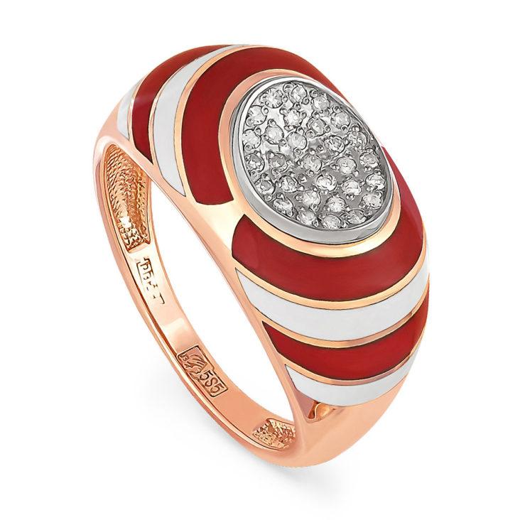 Кольцо 11-0601-1001 золото
