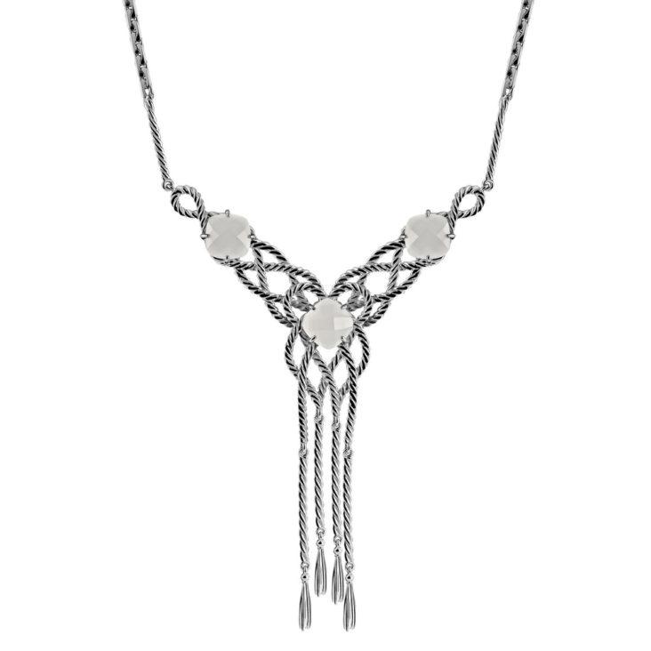 Колье 6-019-9500 серебро
