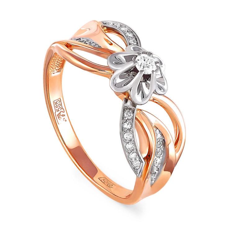 Кольцо 11-0798-1000 золото