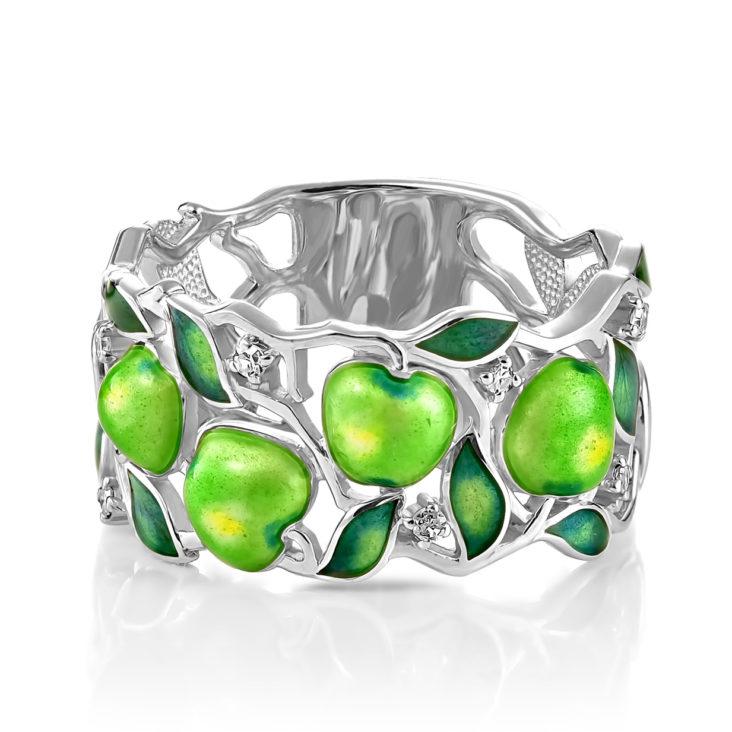 Кольцо 11-152-1001 серебро