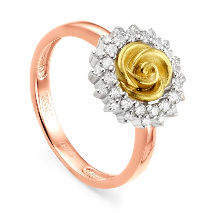 Кольцо 11-0671-1000 золото