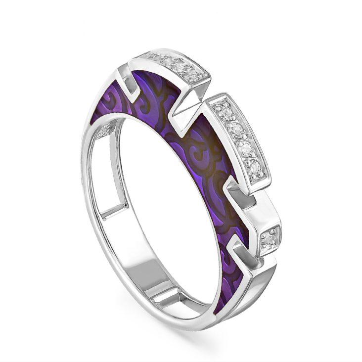 Кольцо 1-027-7901 серебро