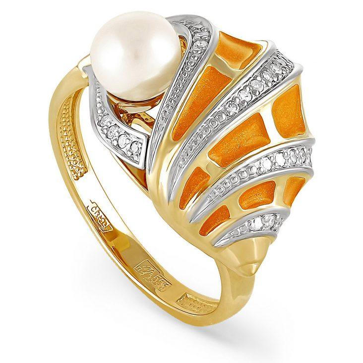 Кольцо 11-2754-1523 золото