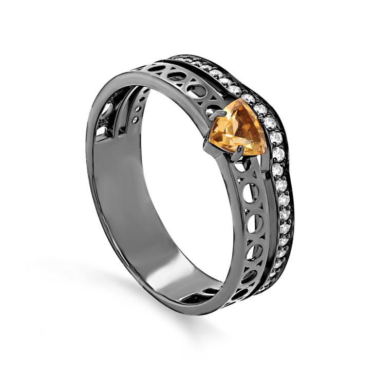 Кольцо 1-053-2989 серебро