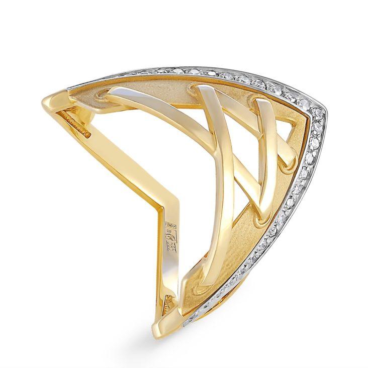 Кольцо 1-2407-1000 золото