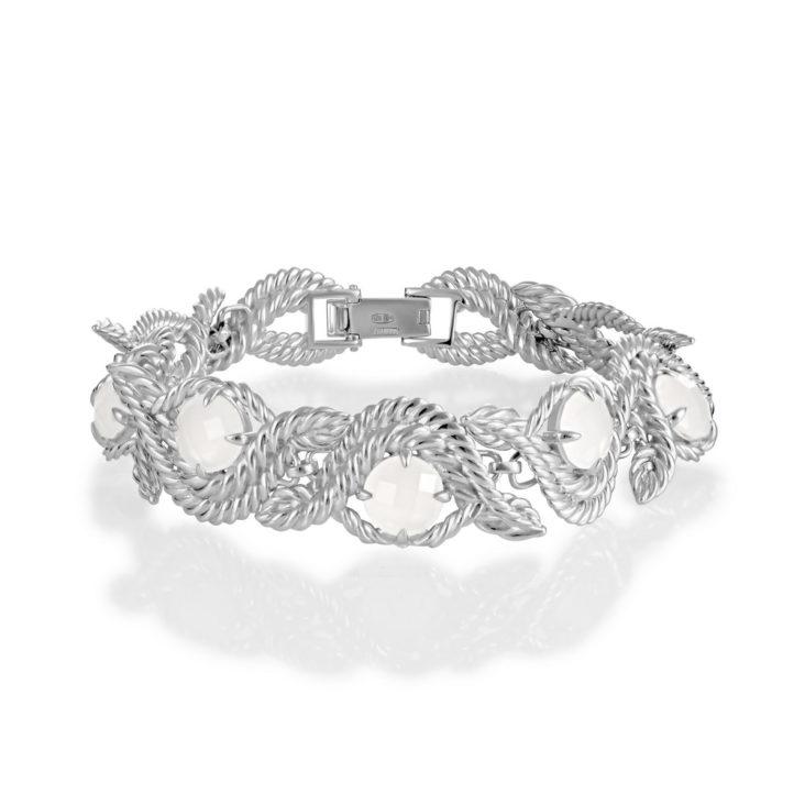Браслет 4-010-9500 серебро
