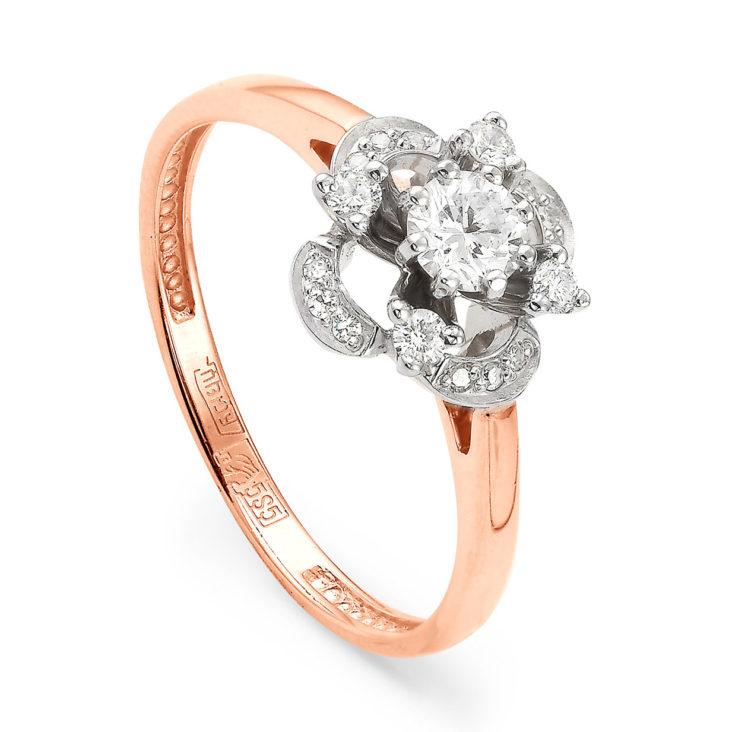 Кольцо 11-0606-1000 золото