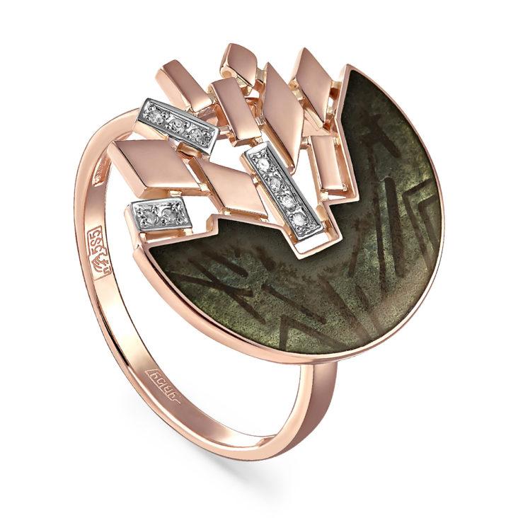 Кольцо 11-01079-1019 золото