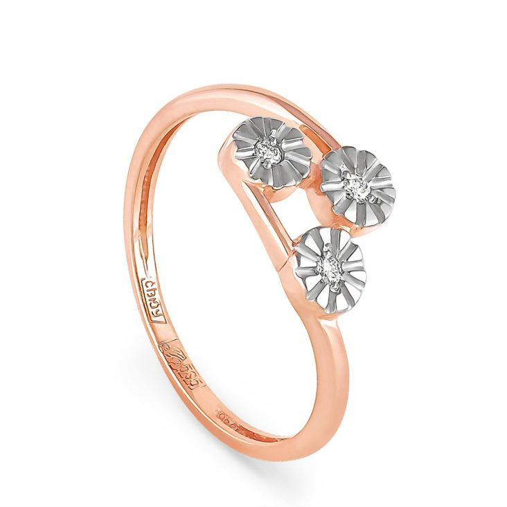 Кольцо 1-0382-1000 золото