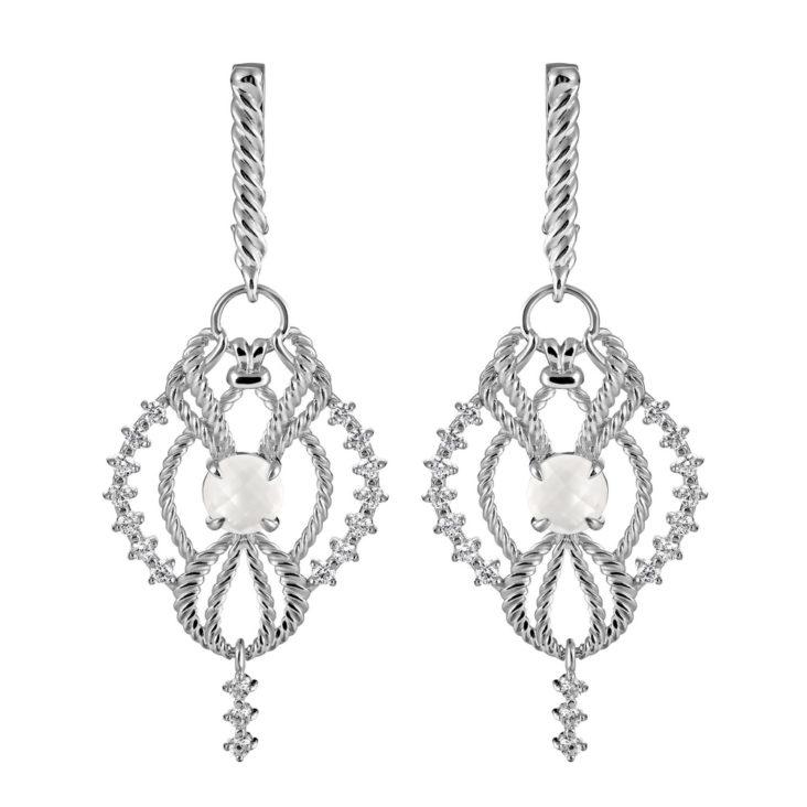 Серьги 2-047-9500 серебро