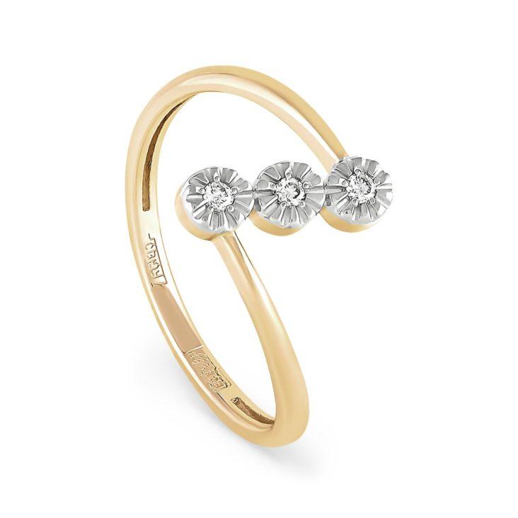 Кольцо 1-2383-1000 золото