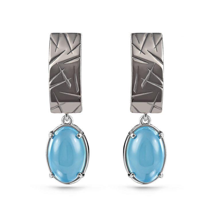Серьги 12-190-8089 серебро