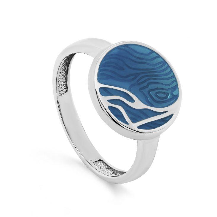 Кольцо 11-287-0005 серебро