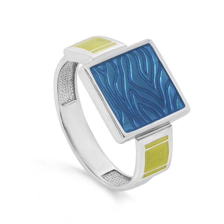 Кольцо 11-288-0001 серебро