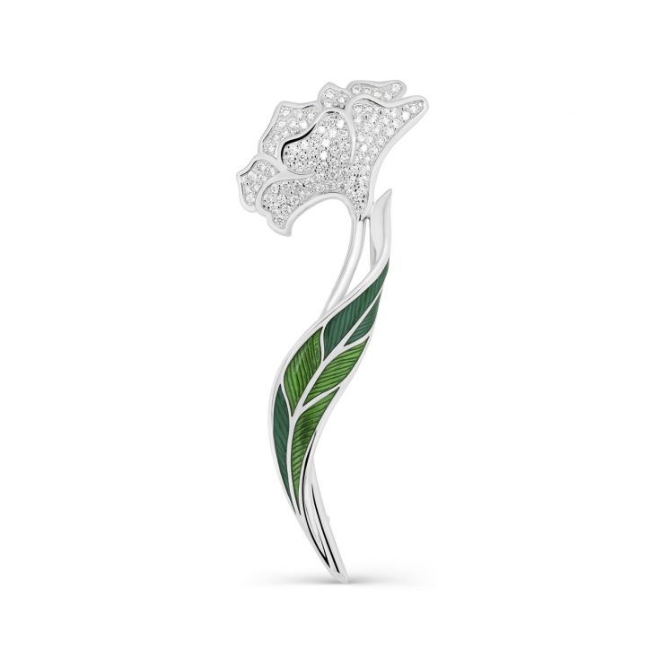 Брошь 5-061-7913 серебро
