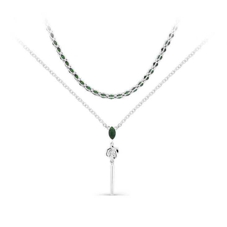 Колье 6-026-8113 серебро