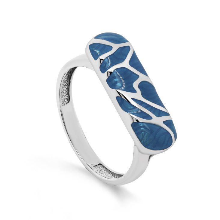 Кольцо 11-286-0005 серебро