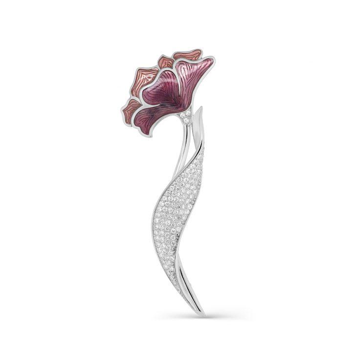 Брошь 5-062-7901 серебро