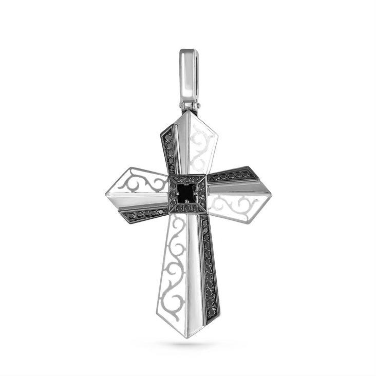 Крест 3-209-41010 серебро