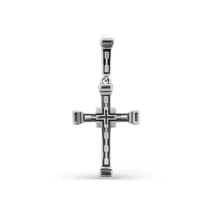 Крест 3-233-0083 серебро