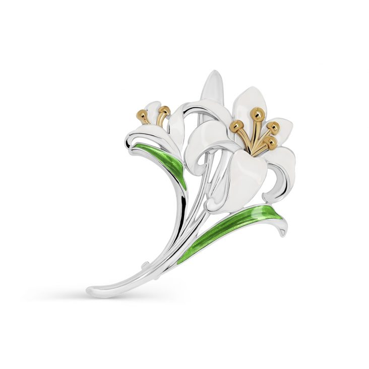 Брошь 5-059-1587 серебро